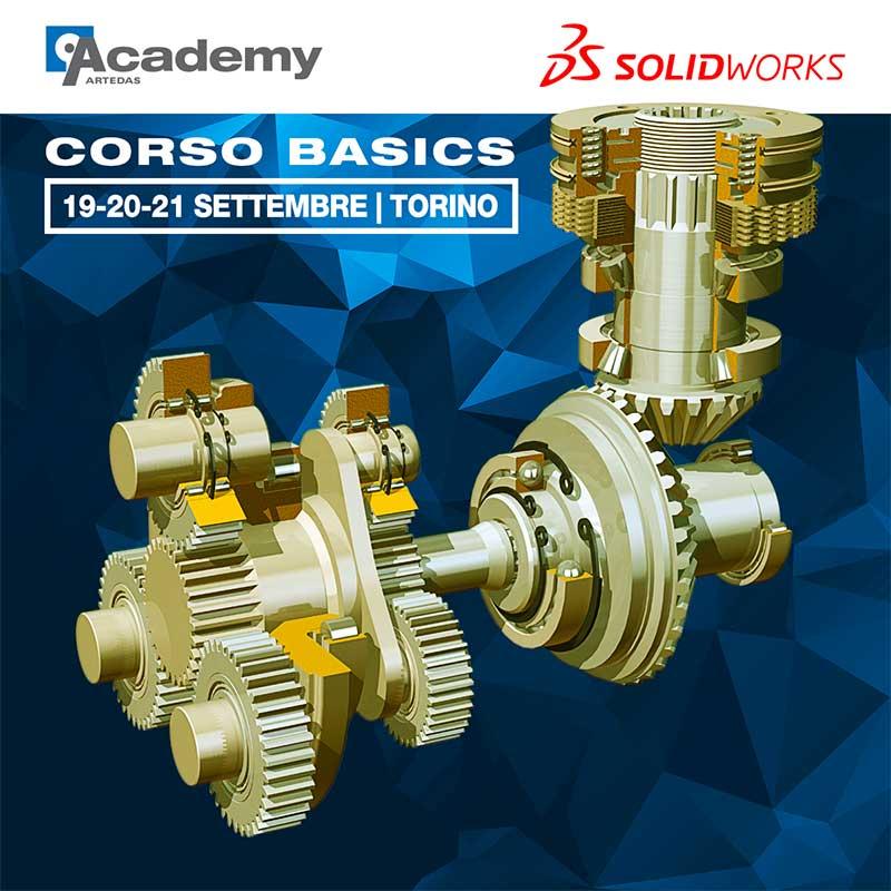corso solidworks basics, settembre, torino
