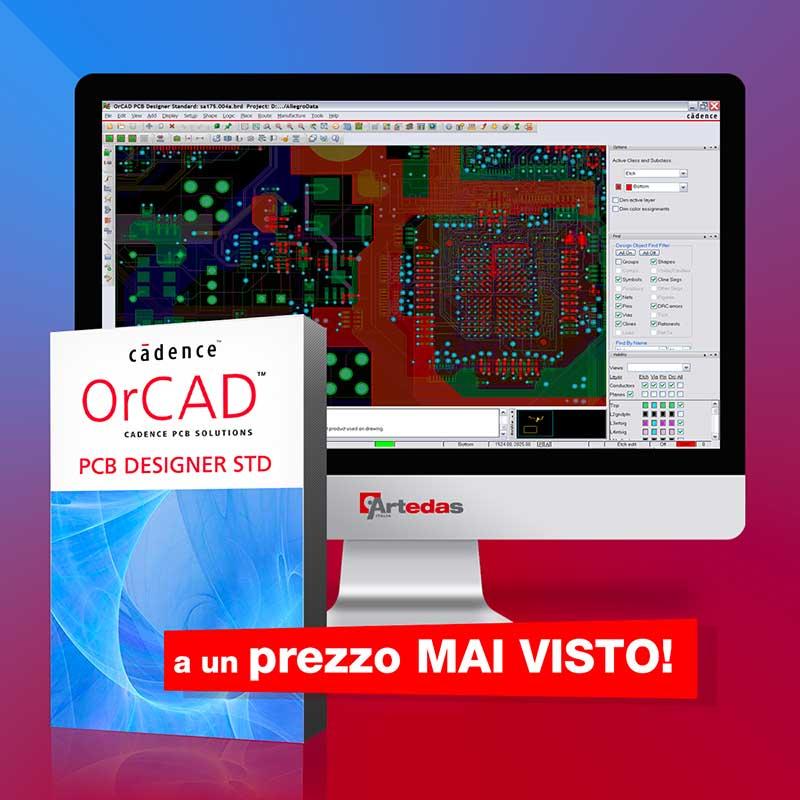 OrCAD PCB Designer STD a un prezzo mai visto!