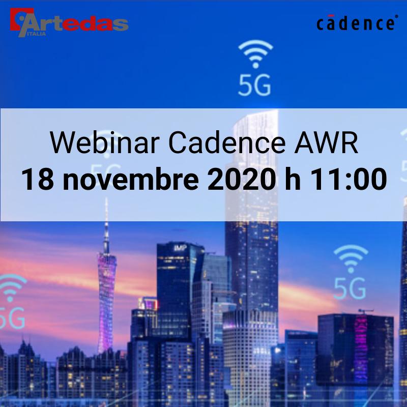 webinar cadence AWR artedas